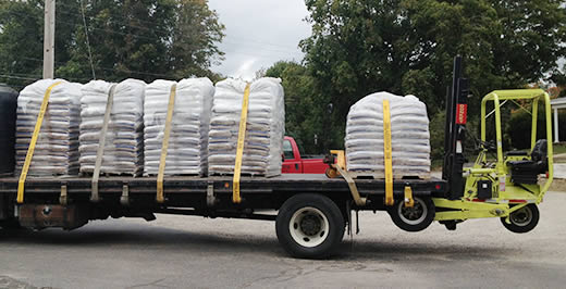 Wood Pellets delivered