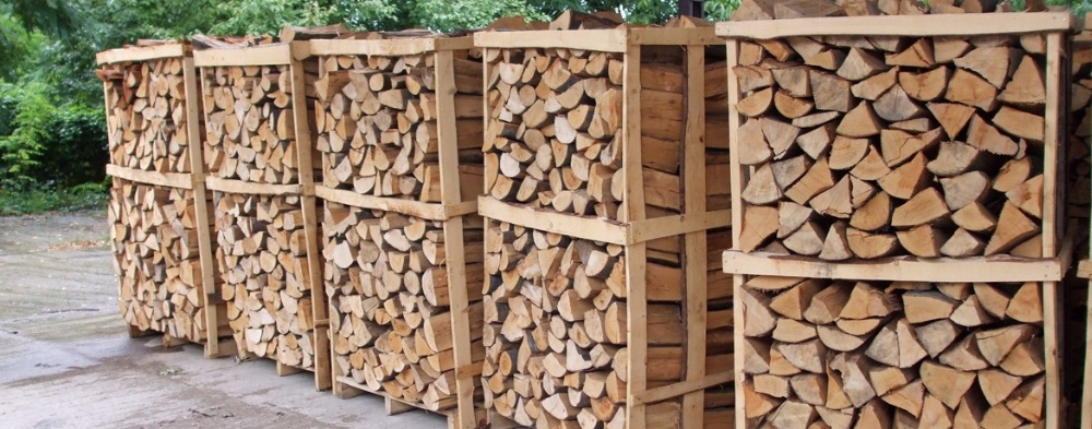Kiln dried firewood is available for delivery or pickup.